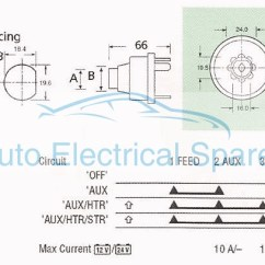 3 Position Toggle Switch On Off Wiring Diagram Lumbar Spinal Nerves Ignition 128sa Replaces Lucas 34228